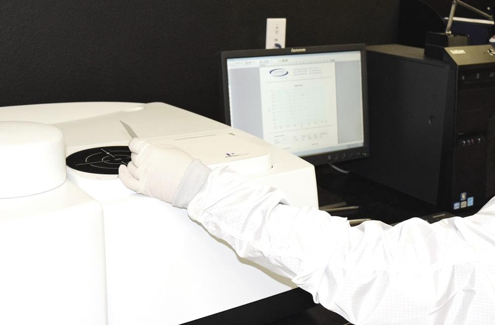 NTFL optical components Metrology lab